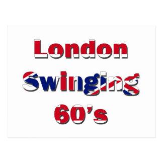 London Swinging 60s Postcard