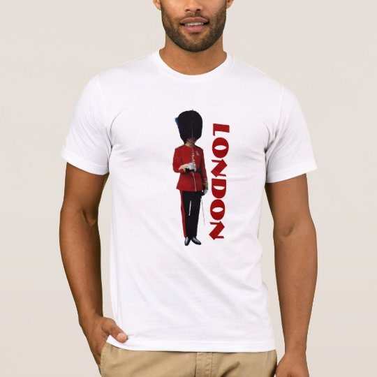 London t-shirt with British soldier