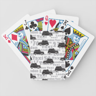 London Taxi Bicycle Playing Cards
