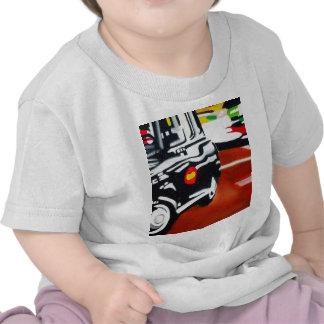 london taxi black cab design t shirt