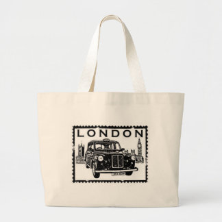 London Taxi Large Tote Bag