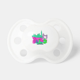 london teal city image png baby pacifier