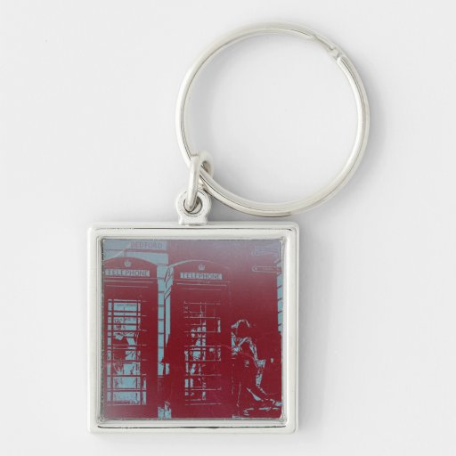 London Telephone Booth Keychains
