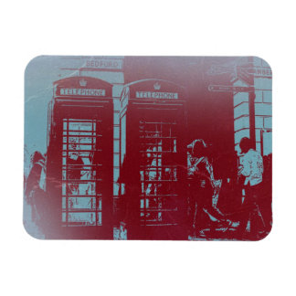 London Telephone Booth Magnet