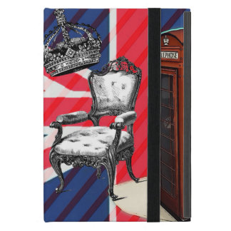 London telephone booth victorian crown union jack cover for iPad mini