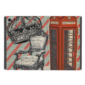 London telephone booth victorian  jubilee crown iPad mini cover