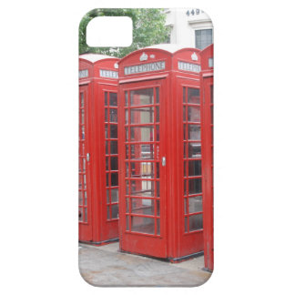 London Telephone Booths Cell Phone Case iPhone 5 Cover