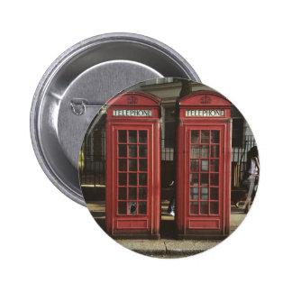 London Telephone Box Button