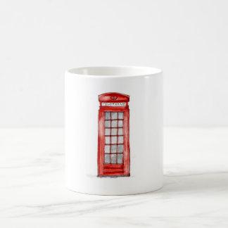 London telephone mug