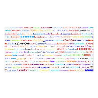 London Text Design II Photo Card