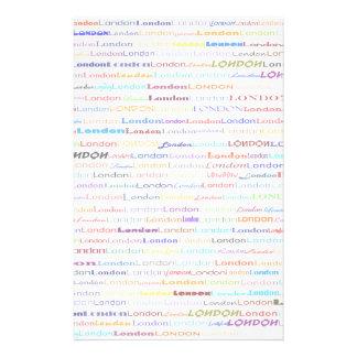 London Text Design II Stationery