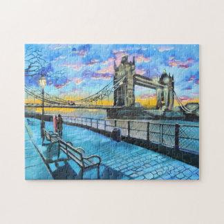 London Thames walk Jigsaw Puzzle