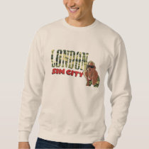 London The sin city camo pattern Sweatshirt