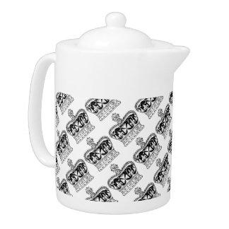 London Theme Royal Crown Teapot