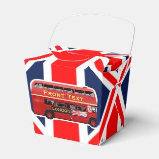 London Themed Favor Box