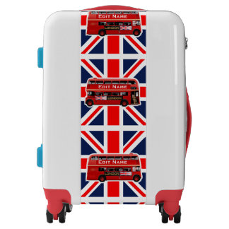 London Themed Luggage
