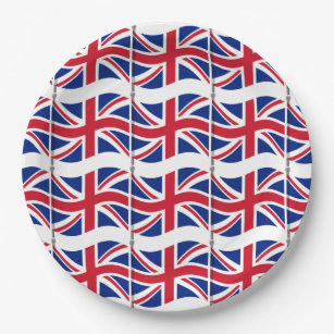 London Themed Party Union Jack Paper Plates  sc 1 st  Zazzle & Union Jack Theme Party Gifts on Zazzle