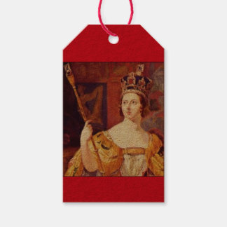 London Themed Queen Victoria Gift Tags