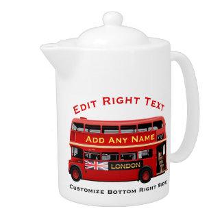 London Themed Teapot