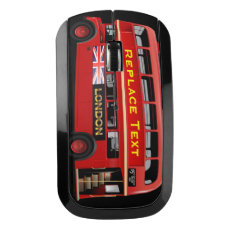 London Themed Wireless Mouse