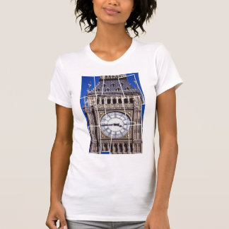 London-time montage-style shirt