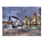 London Time postcard