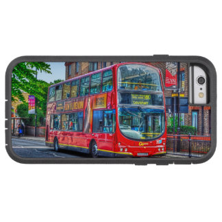 London to Lewisham Red Double-decker Bus UK Tough Xtreme iPhone 6 Case