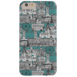 London toile blue barely there iPhone 6 plus case