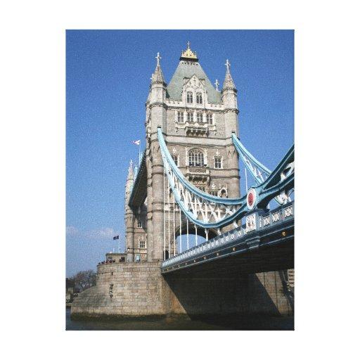 London Tower Bridge 3 Stretched Canvas Print