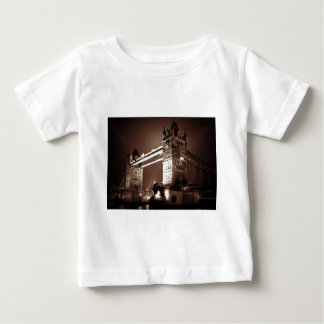 London Tower Bridge at Night Baby T-Shirt