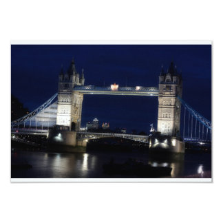 London, Tower Bridge at night Card