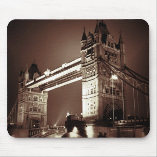 London Tower Bridge at Night Mouse Pad