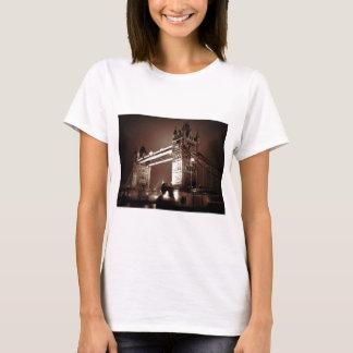 London Tower Bridge at Night T-Shirt