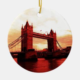 London Tower Bridge Ceramic Ornament