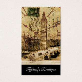 London Tower bridge clocktower big ben Business Card