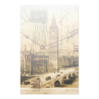 London Tower bridge clocktower big ben Stationery
