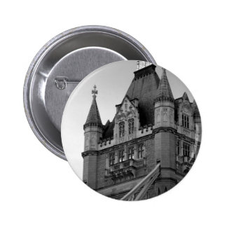 London Tower Bridge Close-up Pinback Button