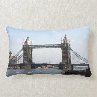 London Tower Bridge, Famous Bridge River Thames Lumbar Pillow
