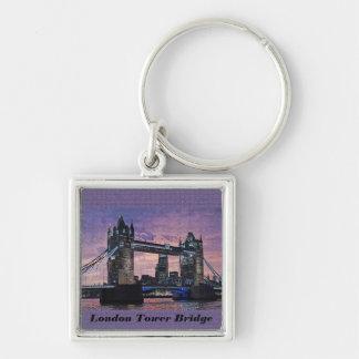 London Tower Bridge Keychain