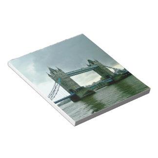 London Tower Bridge Notepad