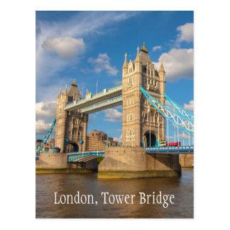 London, Tower Bridge, photography postcard