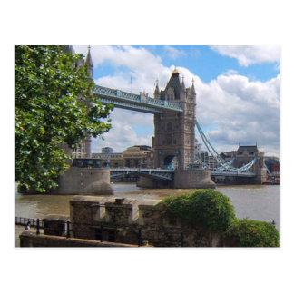 London Tower Bridge Postcard