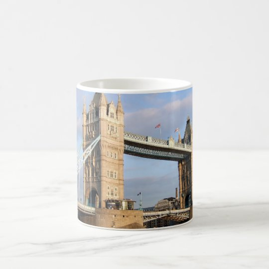 London Tower Bridge skyline mug