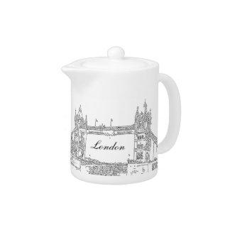 London Tower bridge Teapot