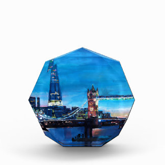 London Tower Bridge with The Shard Award
