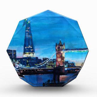 London Tower Bridge with The Shard Acrylic Award