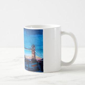 London Tower Bridge with The Shard Classic White Coffee Mug