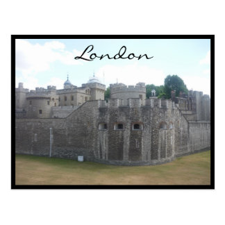 london tower stonework postcard