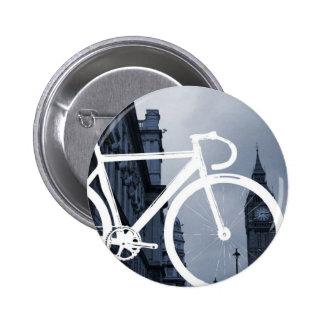 London Track Bicycle Pin