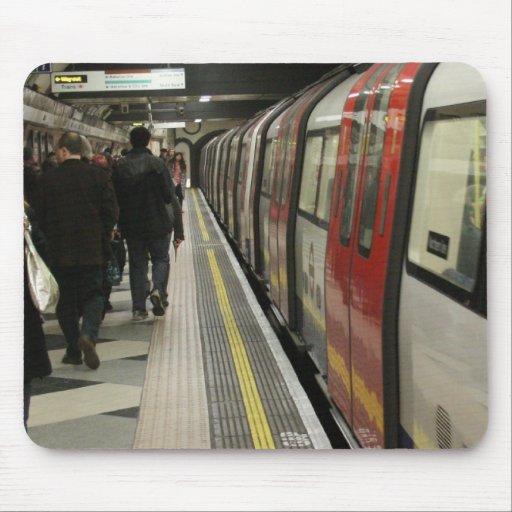 London Train Mouse Pads